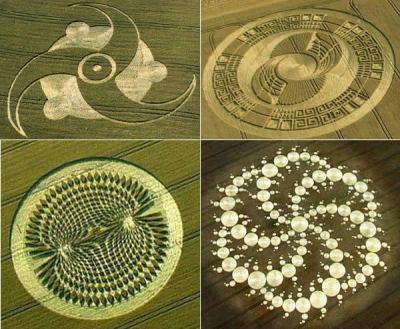 """""""Crop circles"""" Les agroglyphes Crop-circles"""
