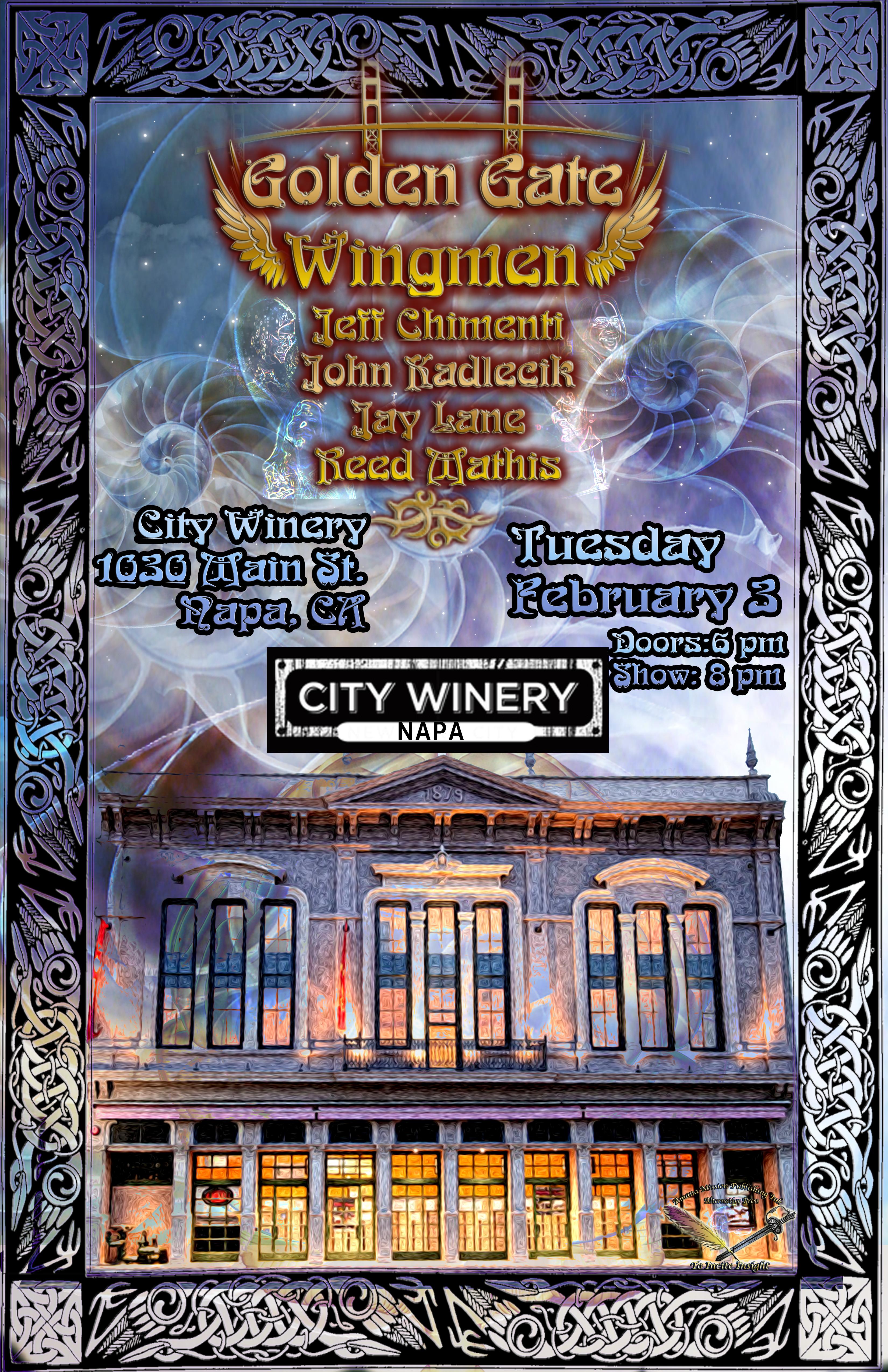 Wingmen poster napa